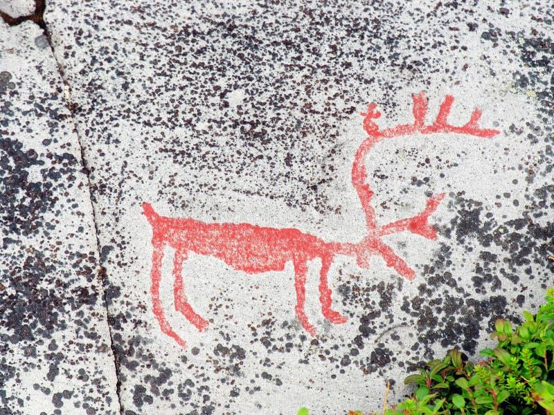 wyciąć prehistorycznego kamień zdjęcie royalty free
