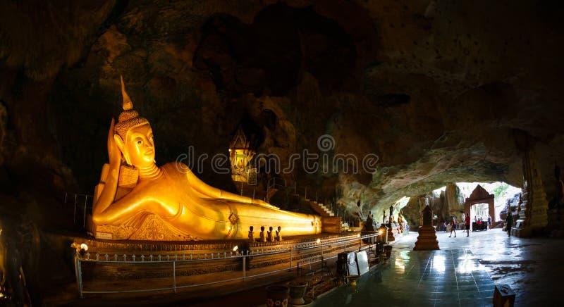 Wycieczka świątynny Wat Suwan Kuha zdjęcia royalty free