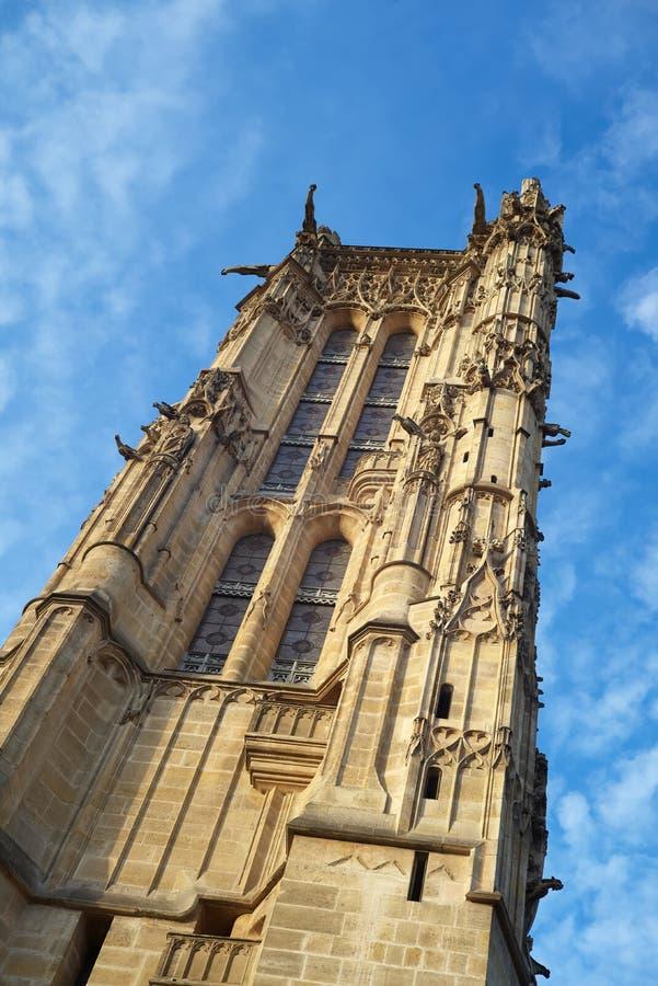 Wycieczka turysyczna świętego Jacques święty James, Paryż, Francja zdjęcie stock