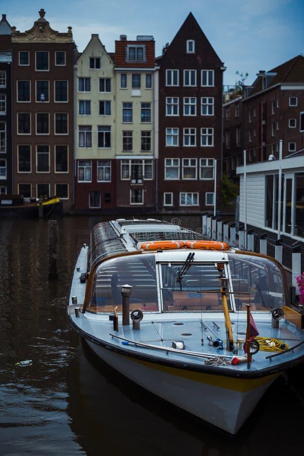Wycieczki turysycznej łódź obraz royalty free
