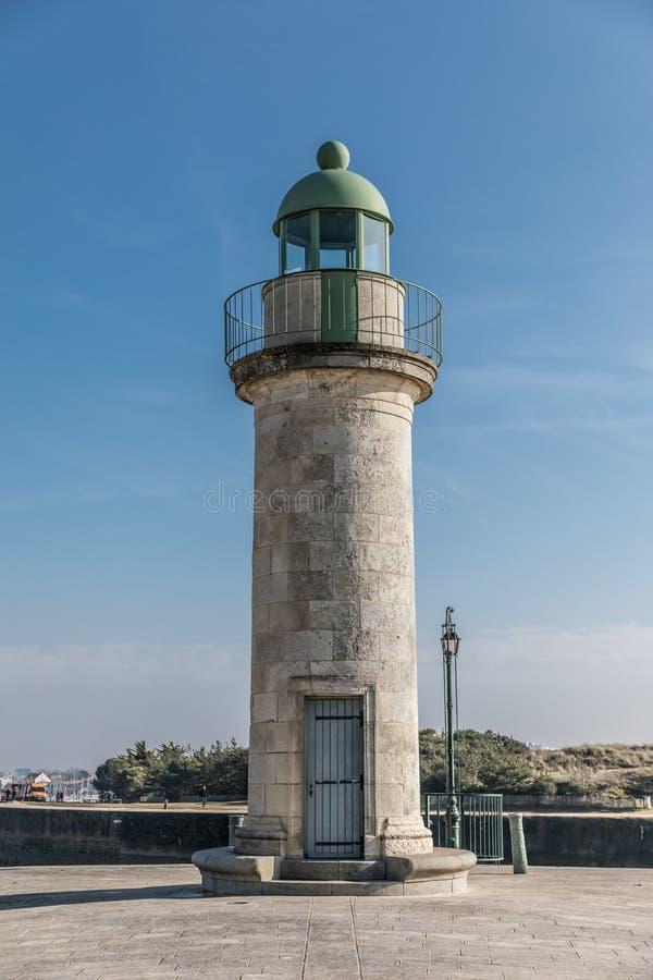Wycieczki turysycznej Josephine latarnia morska obraz royalty free