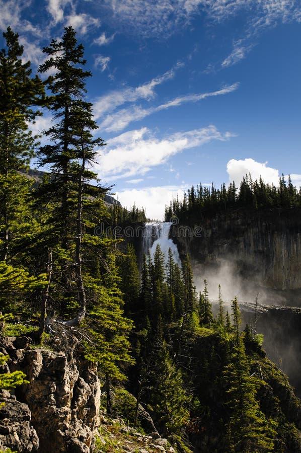 Wycieczkować góra lodowa Jeziornego ślad fotografia stock