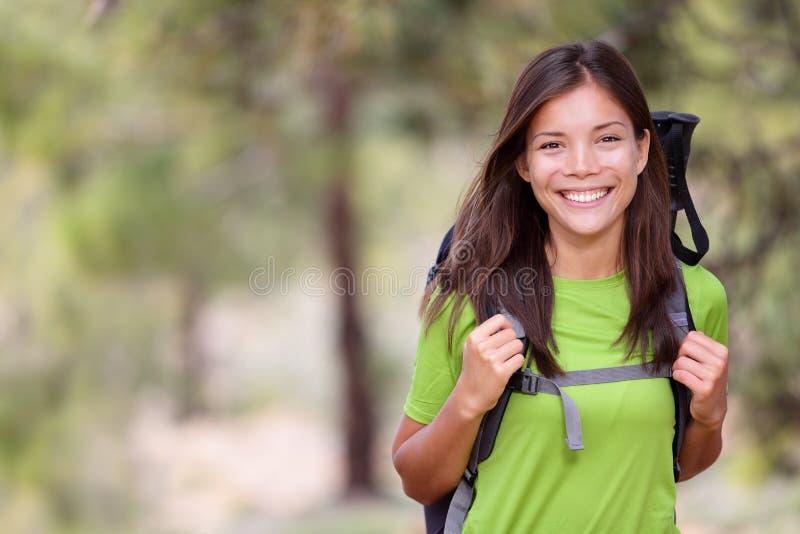 wycieczkowicz kobieta zdjęcie stock