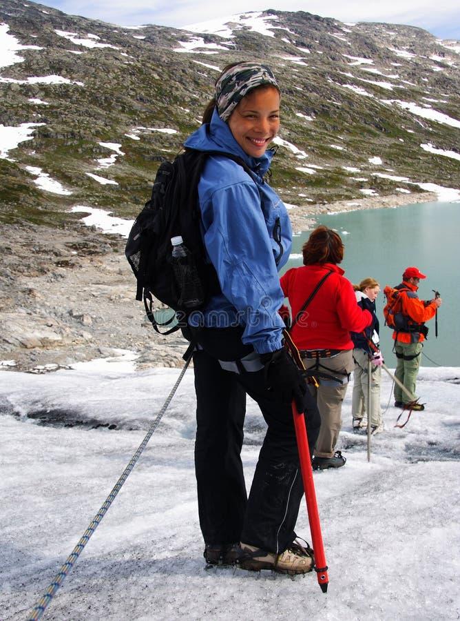 wycieczkowicz Norway zdjęcia stock