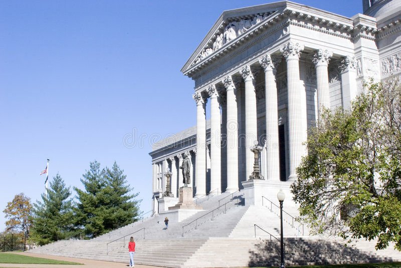 Download Wycieczkowiczek Stan Missouri Kapitolu Zdjęcie Stock - Obraz złożonej z prawa, stan: 39040