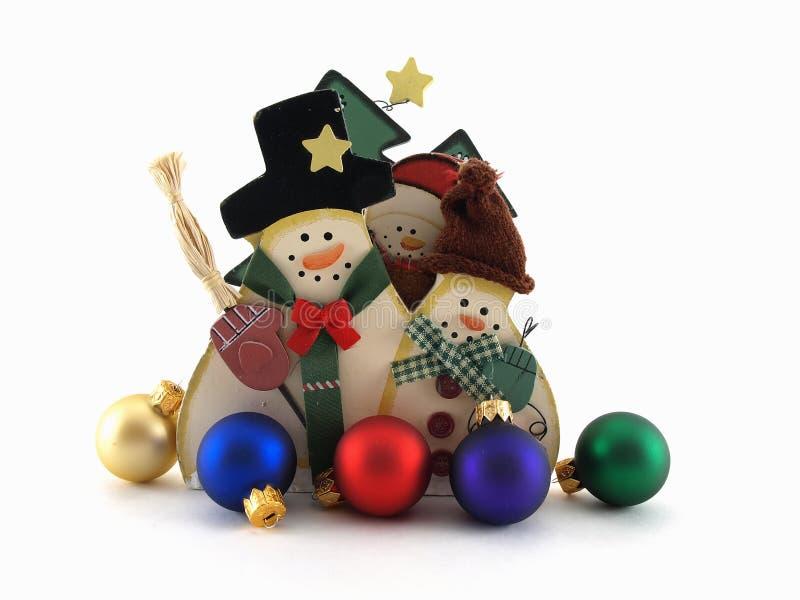 wycinanek ornamentów bałwan zdjęcie stock