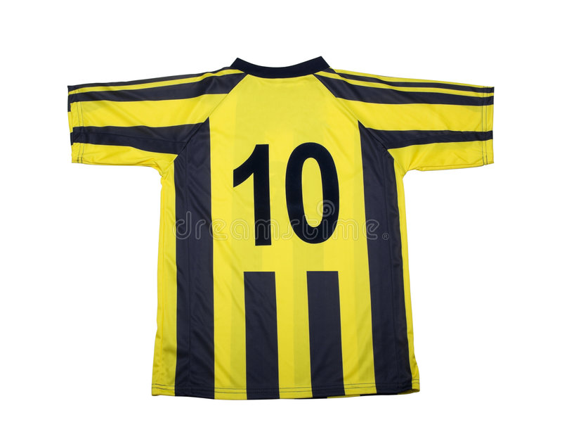 wycinek ścieżki futbolu koszulę obrazy stock