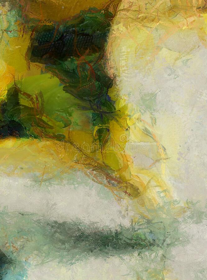 Wyciszony obraz abstrakcyjny obraz royalty free