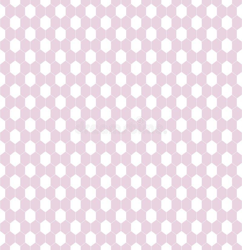 Wyczulony bezszwowy wzór dla tkaniny koronki lub sieć w dziewczęcych kolorach menchii i bielu zdjęcia royalty free