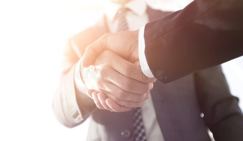 Wydajna negocjacja z klientem Biznesowa pojęcie fotografia fotografia royalty free