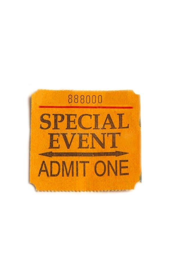 wydarzenie bilet obrazy royalty free