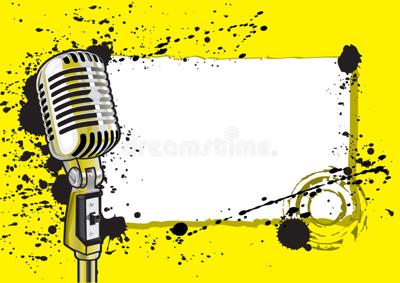 wydarzenie ilustracji muzyki ilustracja wektor