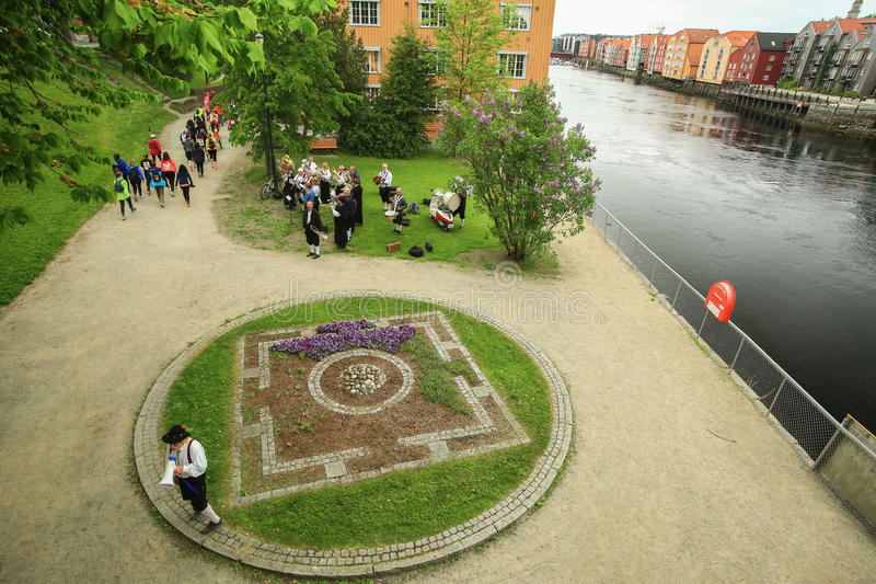 Wydarzenie Jentebølgen GirlsWave, Trondheim, 2016 obrazy stock