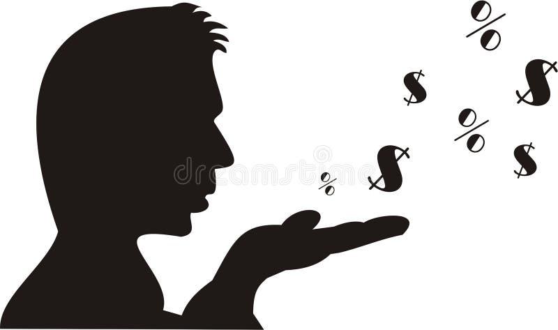 wydatki finansowe obrazy stock