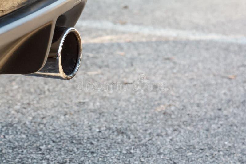 Wydmuchowa drymba ścisły samochód obraz stock