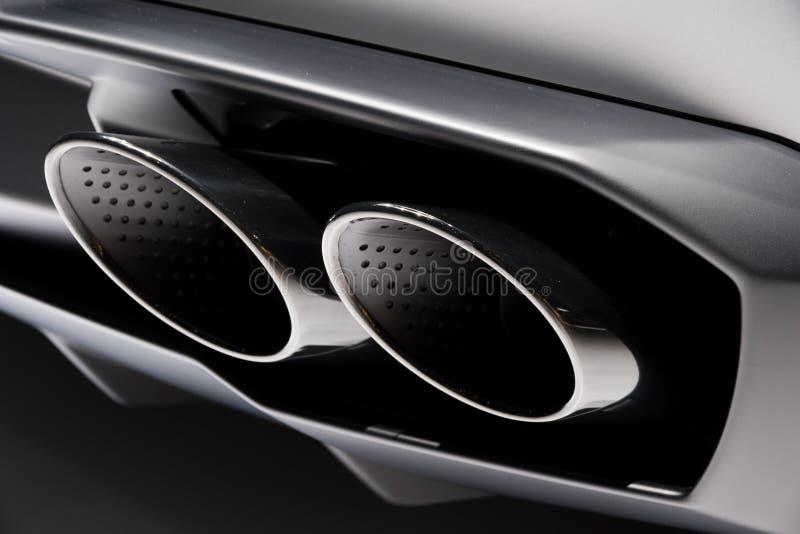 Wydmuchowe drymby samochodowe obraz royalty free