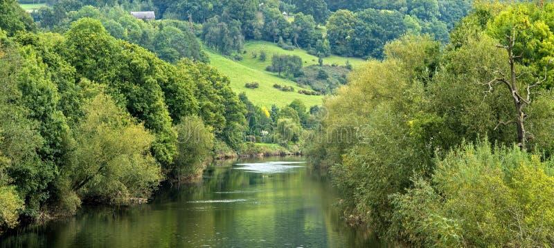 wye ποταμών στοκ φωτογραφία
