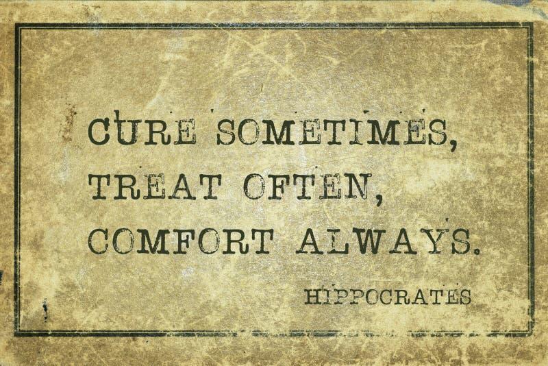 Wygoda zawsze Hippocrates zdjęcia royalty free