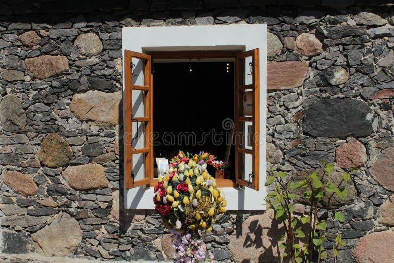 Wygodny okno obraz royalty free