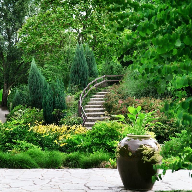 Wygodny park zdjęcie royalty free