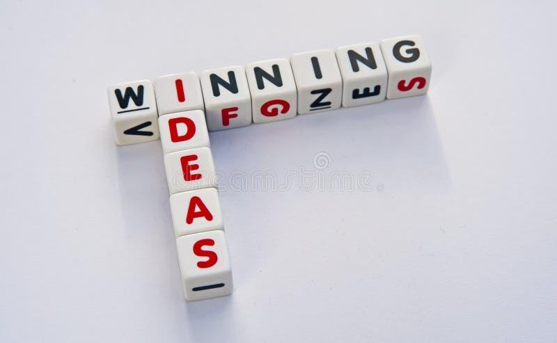 Wygrani pomysły obrazy royalty free