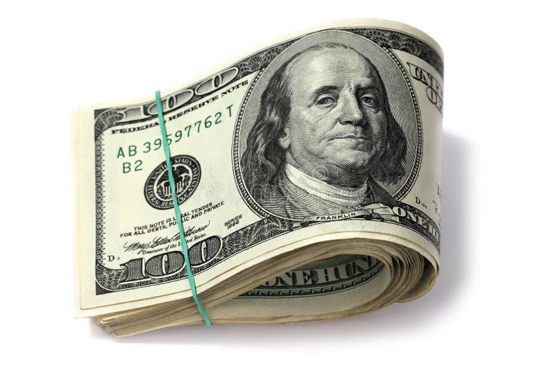 wyizolowana dolarów. zdjęcie royalty free