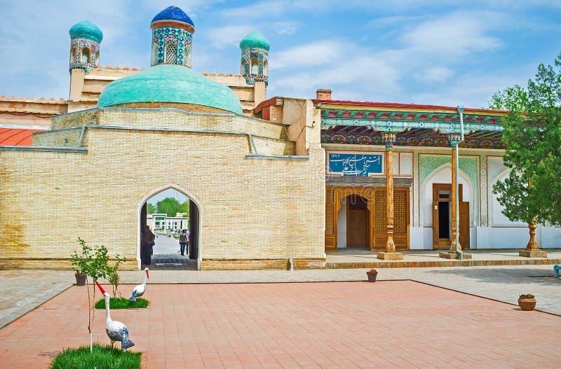 Wyjście brama Khudayar Khan pałac obraz stock