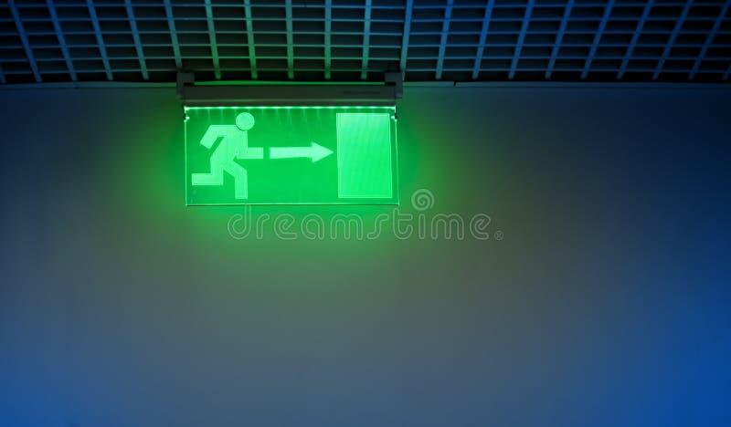 wyjście znak ilustracji
