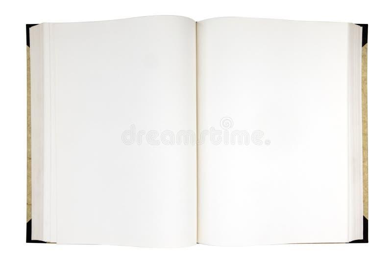 Wyjawiona książka zdjęcia royalty free