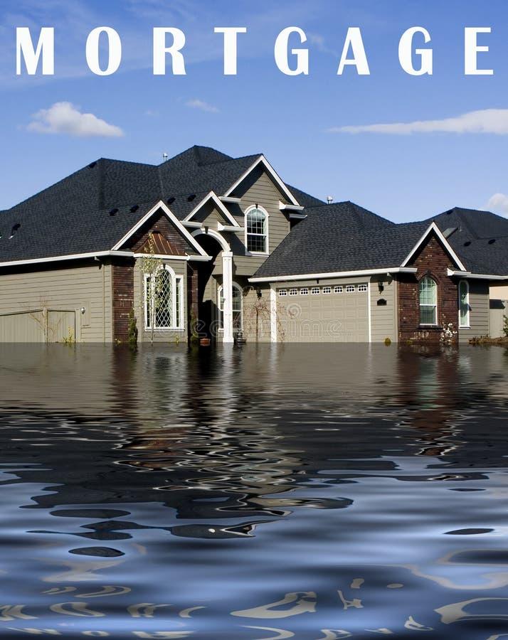 wykluczenie zadłużenia hipoteka ilustracja wektor