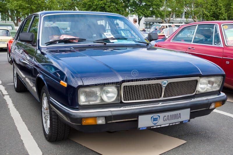 Wykonawcze samochodowe Lancia gamma (Tipo 830) fotografia royalty free