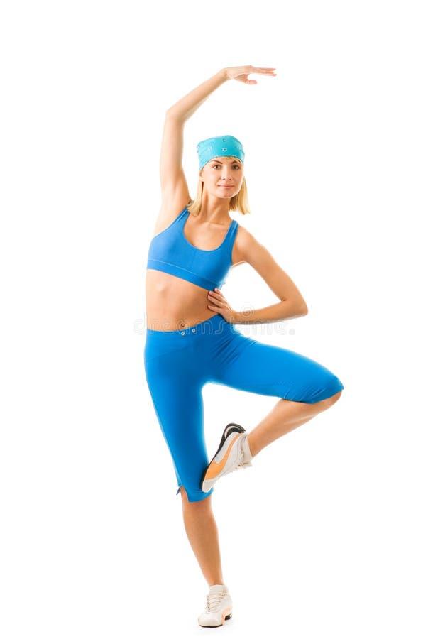 wykonywanie fitness zdjęcia stock