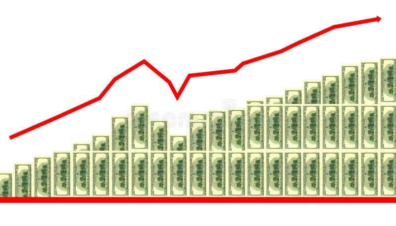 wykres biznes ilustracja wektor