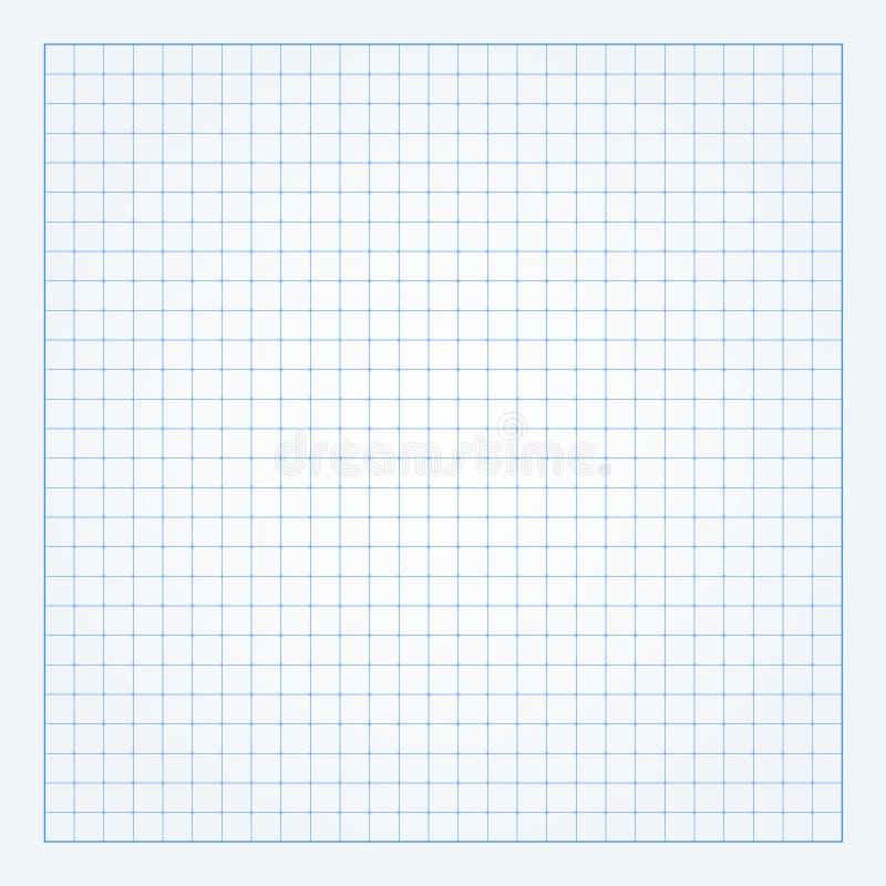 Wykresu papieru tło ilustracja wektor