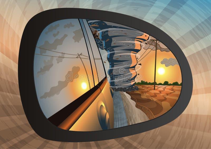 wylotowy tornado ilustracji