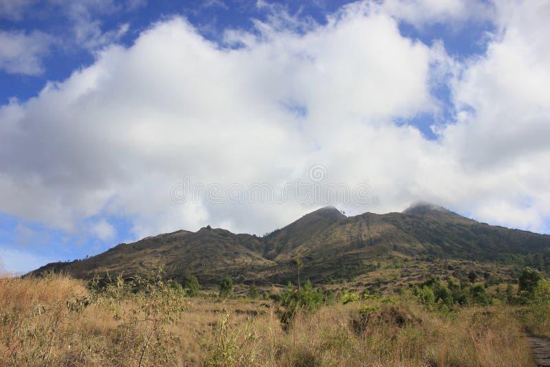 Wymarły wulkan Batur obrazy stock
