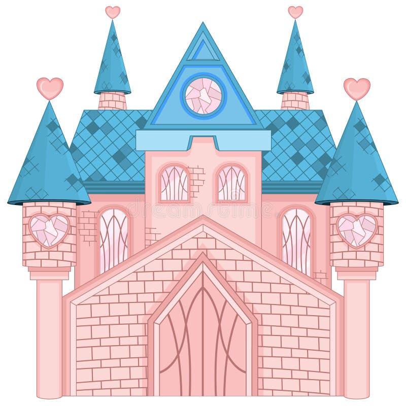 Wymarzony kasztel royalty ilustracja