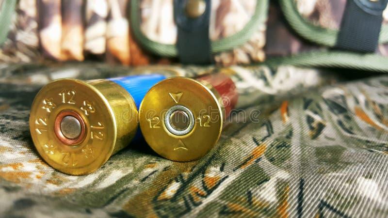 12 wymiernik dla pistoletu z nabojową skrzynką zdjęcie stock