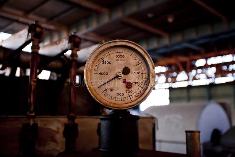 wymiernik przemysłowy fotografia stock