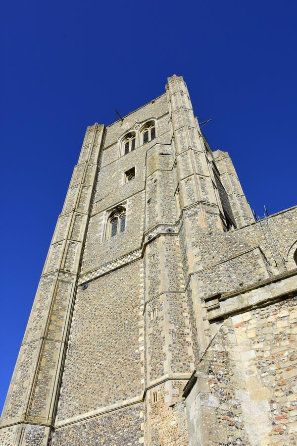 Wymondham abbotskloster, Norfolk, England arkivbilder
