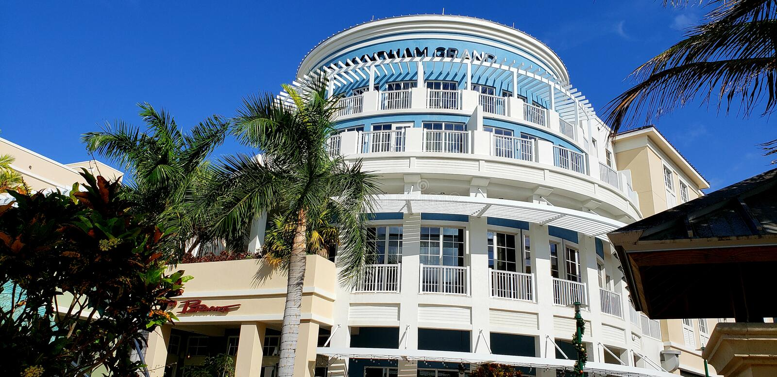Wyndham Grand Jupiter lizenzfreie stockbilder
