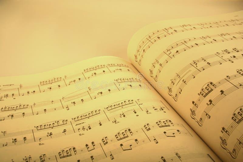 wynik muzyki. obrazy royalty free