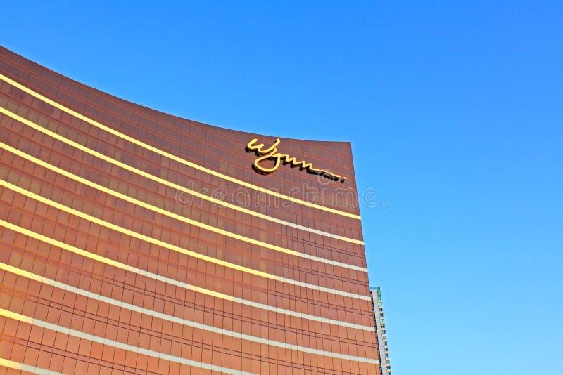 Wynn Casino Building, Macau, China stock photography
