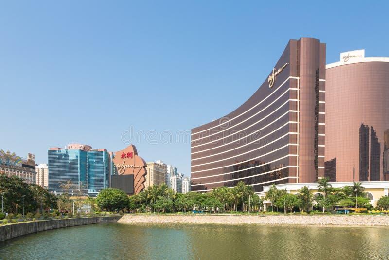 Wynn Casino in Macau royalty free stock images