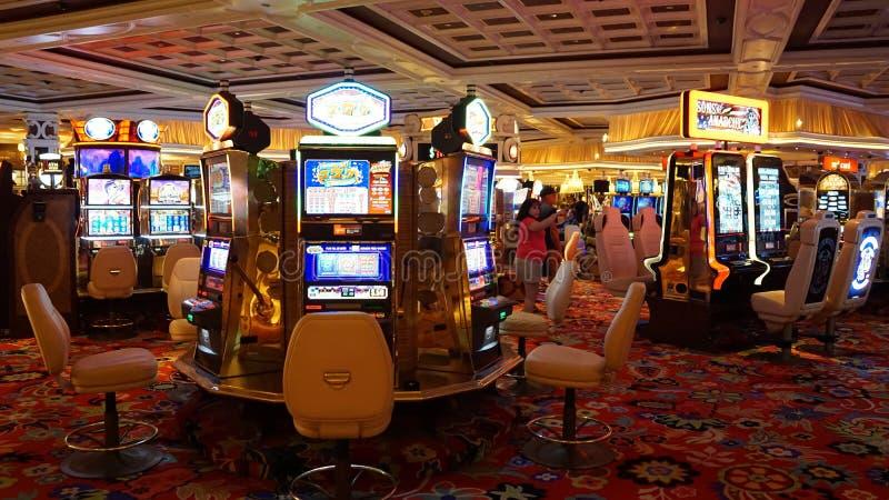 Wynn e bis a Las Vegas fotografie stock