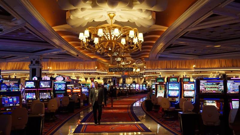 Wynn e bis a Las Vegas immagine stock