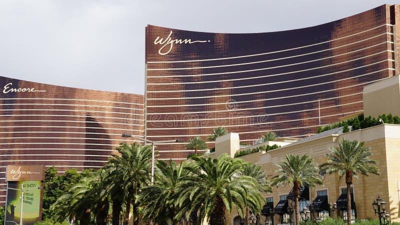 Wynn e bis a Las Vegas immagini stock libere da diritti