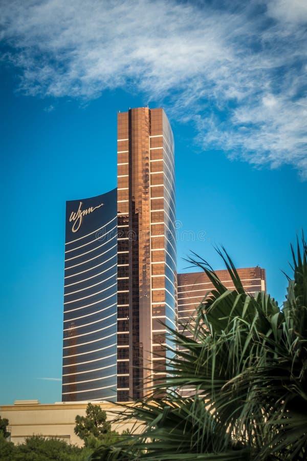 Wynn hotal e casin? Las Vegas Nevada immagine stock libera da diritti