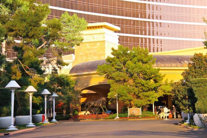Wynn Hotel e casinò a Las Vegas, Nevada. immagine stock libera da diritti