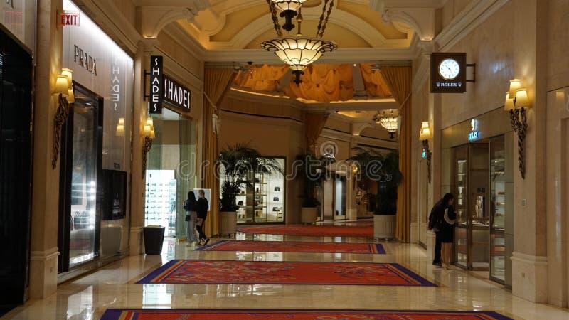Wynn Hotel e casinò a Las Vegas, Nevada fotografia stock libera da diritti